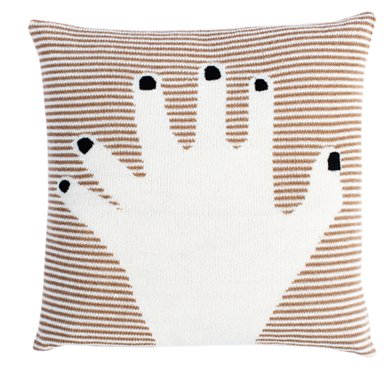 Fancy Finger Pillow Case (Camel)