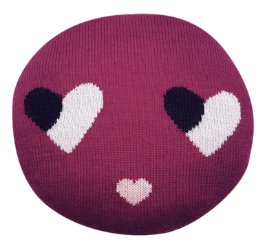 Sweetheart Chair Pillow (Plum)